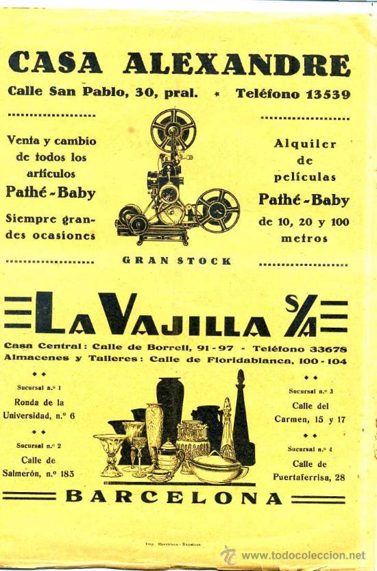 Cine: BOLETÍN OFICIAL DEL CINEMATIC CLUB AMATEUR 1933 A 1937 - 32 NÚMEROS - Foto 5 - 27797345