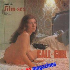 Cine: NUEVO FILM SEX Nº 2 JENNY LLADA CALL-GIRL~HELGA LINE~BARBARA REY~LA MUERTE RONDA A MÓNICA. Lote 27821691