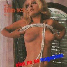 Cine: NUEVO FILM SEX Nº 14 FEDRA LORENTE~FRAUDE MATRIMONIAL~PATRICIA ADRIANI~IGNACIO F. IQUINO. Lote 27821865
