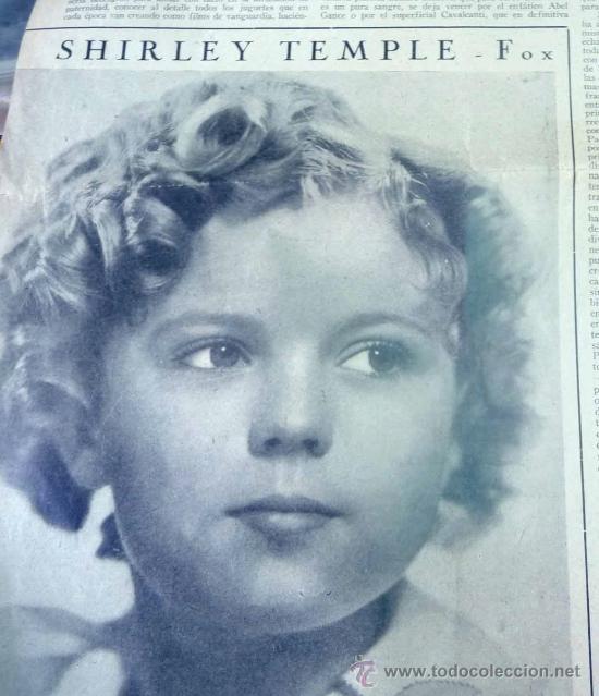 Cine: REVISTA SEMANAL CINEMATOGRAFICA, POPULAR FILM, 1937, Nº 553, SHERLEY TEMPLE, JEAN HARLOW - Foto 3 - 27859188