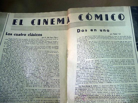 Cine: REVISTA SEMANAL CINEMATOGRAFICA, POPULAR FILM, 1937, Nº 553, SHERLEY TEMPLE, JEAN HARLOW - Foto 4 - 27859188
