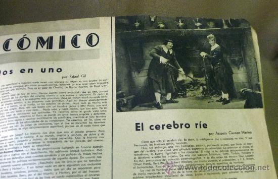 Cine: REVISTA SEMANAL CINEMATOGRAFICA, POPULAR FILM, 1937, Nº 553, SHERLEY TEMPLE, JEAN HARLOW - Foto 5 - 27859188