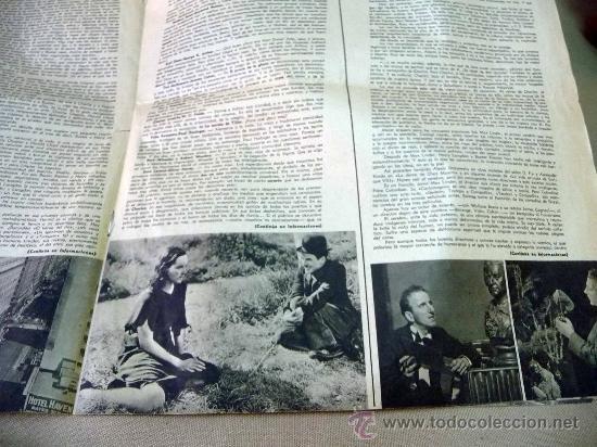 Cine: REVISTA SEMANAL CINEMATOGRAFICA, POPULAR FILM, 1937, Nº 553, SHERLEY TEMPLE, JEAN HARLOW - Foto 6 - 27859188