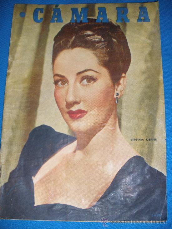 REVISTA CAMARA. AÑO 1947; BARCELONA , CINE EN MEJICO, VIDA DE KATHARINE HEPBURN ETC. (Cine - Revistas - Cámara)