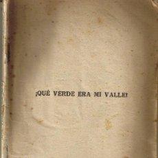 Cine: QUE VERDE ERA MI VALLE - EDICIONES BISTAGNE - DIRECCION JOHN FORD . Lote 28003062