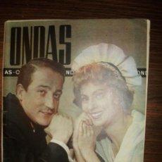 Cine: REVISTA ONDAS AÑO1960 Nº172 ISIDRO SOLA,AMA ROSA,ANTONIO CALDERON,BUERO VALLEJO,PICASSO. Lote 28397016