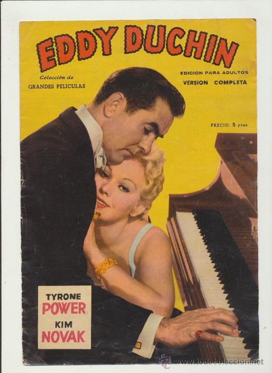EDDY DUCHIN. GRANDES PELÍCULAS. FHER 1959. (Cine - Revistas - Otros)