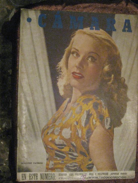 REVISTA DE CINE CÁMARA. 1-1-1947. LA PAREJA BOGART,VIDA DE KATHARINE HEPBURN,DEBORAH KERR,.... (Cine - Revistas - Cámara)