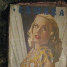 Cine: REVISTA DE CINE CÁMARA. 1-1-1947. LA PAREJA BOGART,VIDA DE KATHARINE HEPBURN,DEBORAH KERR,..... Lote 28024614