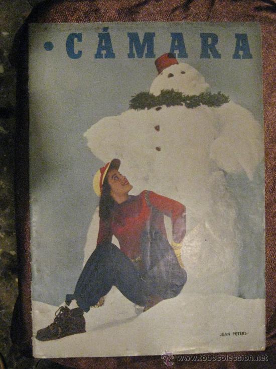 REVISTA DE CINE CÁMARA. Nº 169. 15-1-1950. MAS-GUINDAL,PELICULAS ESPAÑOLAS,EL CASO LOLA FLORES,... (Cine - Revistas - Cámara)