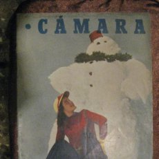 Cine: REVISTA DE CINE CÁMARA. Nº 169. 15-1-1950. MAS-GUINDAL,PELICULAS ESPAÑOLAS,EL CASO LOLA FLORES,.... Lote 28024860
