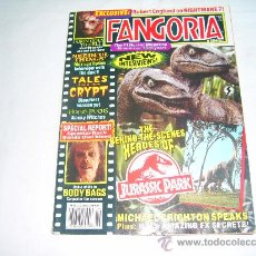Cinéma: FANGORIA Nº 126. HORROR MAGAZINE. JURASSIC PARK. TALES FROM THE CRYPT. NEEDFUL TINGS. SPLATTER ROCK . Lote 28058980