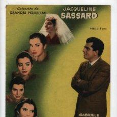 Cine: GRANDES PELICULAS. NACIDA EN MARZO. FHER 1958.. Lote 28182907