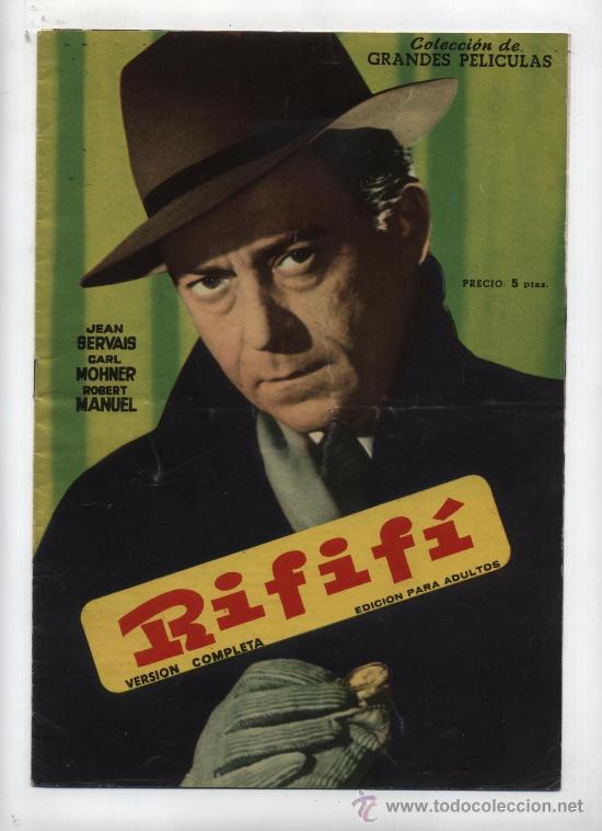 RIFIFÍ. GRANDES PELÍCULAS. FHER 1959. (Cine - Revistas - Colección grandes películas)