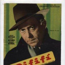 Cine: RIFIFÍ. GRANDES PELÍCULAS. FHER 1959.. Lote 28183671
