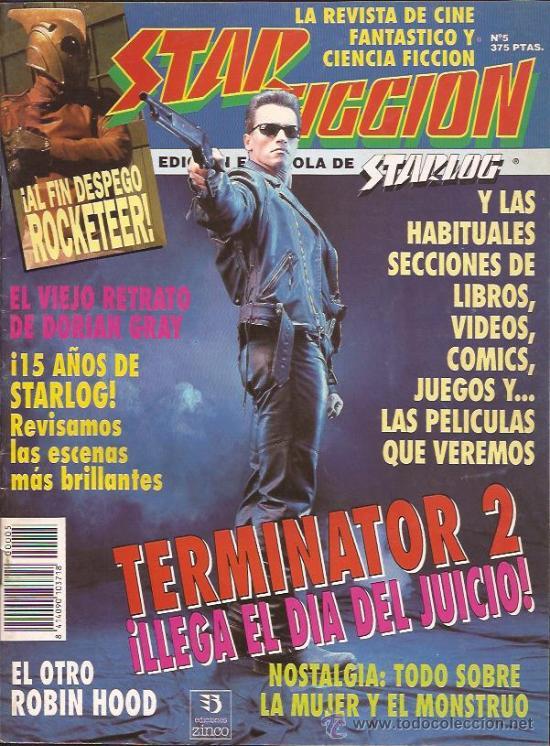 REVISTA-STAR FICCION-NUM 5-AGOSTO 91- (Cine - Revistas - Star Ficcion)