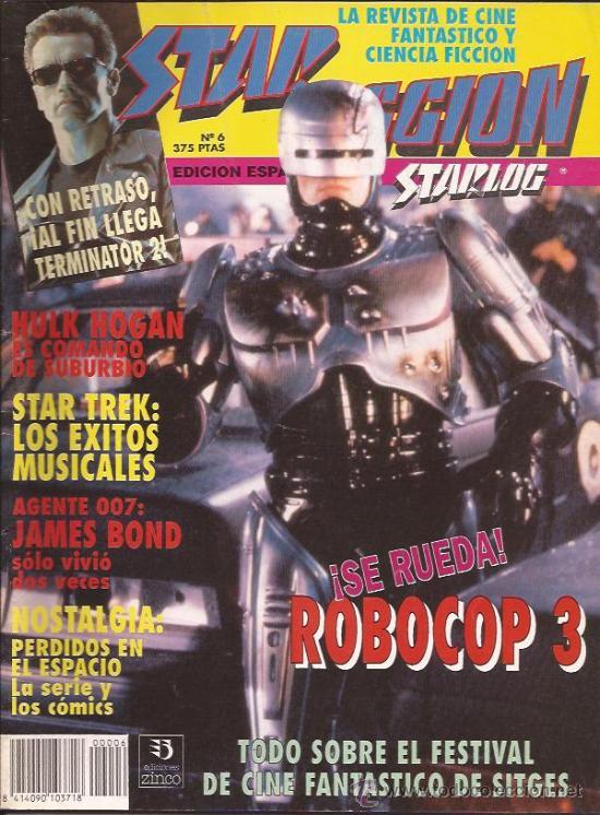 REVISTA-STAR FICCION-NUM 6-OCTUBRE 91- (Cine - Revistas - Star Ficcion)