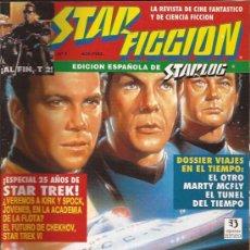 Cine: REVISTA-STAR FICCION-NUM 7-DICIEMBRE 91-STAR TREK-. Lote 28101045