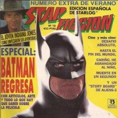 Cine: REVISTA-STAR FICCION-NUM 10-JUNIO 92-BATMAN-. Lote 28101065