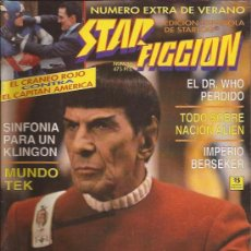 Cine: REVISTA-STAR FICCION-NUM 16-JULIO 93-STAR TREK. Lote 106701908