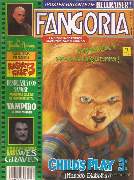 REVISTA DE CINE-FANGORIA NUM.6-MARZO 92-CHUCKIE (Cine - Revistas - Fangoria)