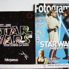 Cine: REVISTA FOTOGRAMAS PORTADA STAR WARS. Lote 51965454