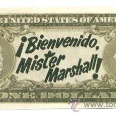 Cinema: BIENVENIDO MISTER MARSHALL - REEDICION DE LA FILMOTECA IVAC 2003 - IMPECABLE ESTADO. Lote 236169435