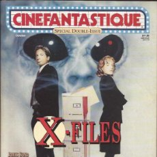 Cine: REVISTA DE CINE-CINEFANTASTIQUE-VOL.26 NUM.6-OCTUBRE 95-DOBLE-X FILES-. Lote 28172162