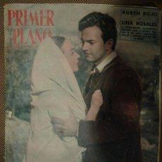 Cine: REVISTA ESPAÑOLA DE CINE. PRIMER PLANO. 1954. AÑO XIV. Nº 711. RUBEN ROJO Y LINA ROSALES.. Lote 28235075