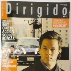 Cine: REVISTA DE CINE DIRIGIDO POR Nº 326, SEPTIEMBRE 2003, WIM WENDERS. Lote 28357030