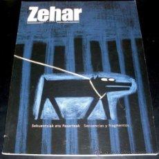 Cine: REVISTA ZEHAR - CINE - SECUENCIAS Y FRAGMENTOS - DIPUTACION FORAL DE GIPUZKOA. Lote 28404643
