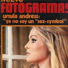 Cine: FOTOGRAMAS Nº 1162 URSULA ANDRESS. Lote 28506664