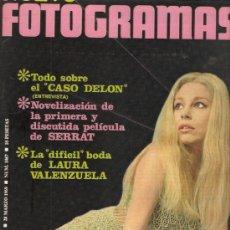 Cine: FOTOGRAMAS Nº 1067 LAURA VALENZUELA. Lote 28507150