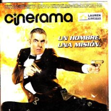 Cinema: REVISTA CINERAMA SEPTIEMBRE 2011 (Nº 197) · EN PORTADA: JOHNNY ENGLISH RETURNS · 52 PÁGINAS. Lote 28530180