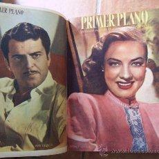 Cine: PRIMER PLANO - REVISTA ESPAÑOLA DE CINEMATOGRAFÍA - 1947 - AÑO COMPLETO. Lote 28670062