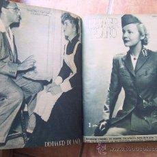 Cine: PRIMER PLANO - REVISTA ESPAÑOLA DE CINEMATOGRAFÍA - 1946 - AÑO COMPLETO. Lote 28670070