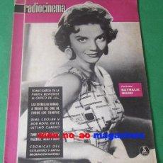Cine: RADIOCINEMA 490/1961 NATALIE WOOD~TONY LEBLANC~JOSE LUIS LOPEZ VAZQUEZ~PASCALE PETIT. Lote 28673726