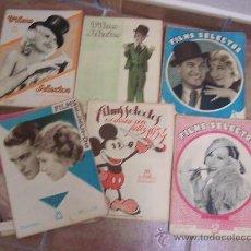 Cine: FILMS SELECTOS - 1933 - AÑO COMPLETO. Lote 28682277