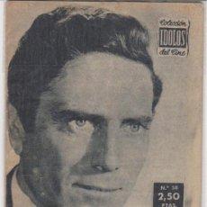 Cine: CIOLECCIÓN IDOLOS DEL CINE Nº 58. RAF VALLONE.. Lote 28698771