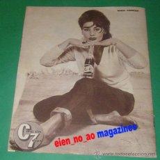Cine: CINE EN 7 DIAS #69/1962~MARIA ANDERSEN~JAMES DEAN~KIM NOVAK~EDITH PIAF~ELKE SOMMER~PEPSI-COLA. Lote 28709210