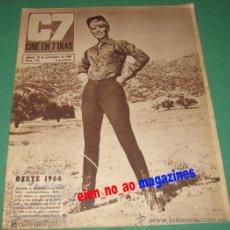 Cine: CINE EN 7 DIAS #293/1966~ABBY DALTON~KATRIN SCHAAKE~ELEANOR PARKER~PATRICIA VITERBO~LOS SIREX. Lote 28711598
