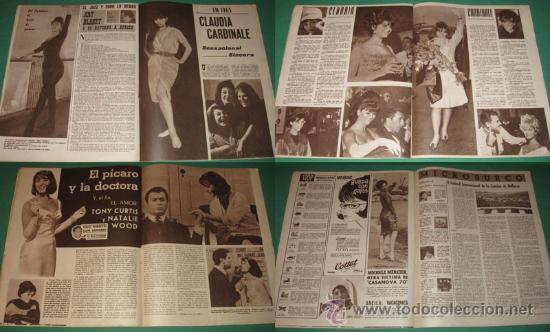 Cine: CINE EN 7 DIAS #197/1965 Sandra Dee~Claudia Cardinale~Natalie Wood~Roger Vadim~Luis Gardey - Foto 2 - 28713057