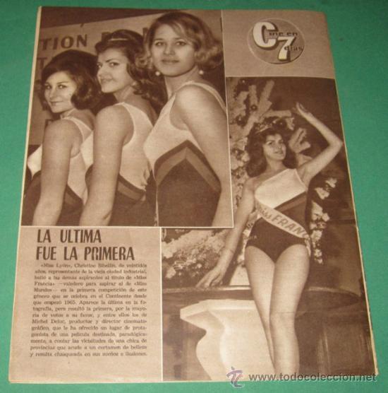 Cine: CINE EN 7 DIAS #197/1965 Sandra Dee~Claudia Cardinale~Natalie Wood~Roger Vadim~Luis Gardey - Foto 3 - 28713057