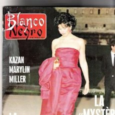 Cine: REVISTA BLANCO Y NEGRO JULIO 1988 KAZAN RARYLIN MILLER REPORTAJE INTERIOR DE MARYLIN MONROE. Lote 28752835