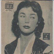 Cine: IDOLOS DEL CINE Nº 61. DAWN ADAMS.. Lote 28759717