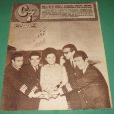 Cine: CINE EN 7 DIAS 273/1966 LOS DE LA TORRE~MAGDALENA IGLESIAS~MISS ESPAÑA~FANY CANO~DIANA SOREL. Lote 28806460