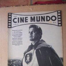 Cinema: CINE MUNDO - Nº 521 - ACTUALIDAD CINEMATOGRÁFICA MUNDIAL - 1962. Lote 28848171