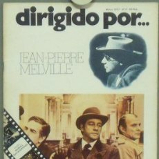 Cine: DIRIGIDO POR... Nº 5 JEAN PIERRE MELVILLE. Lote 28849195