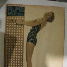 Cine: FILMS SELECTOS.Nº 251. 10 AGOSTO 1935. PORTADA DE WENDY BARRIE, BELLA Y NUEVA ARTISTA DE PARAMOUNT.. Lote 28885831