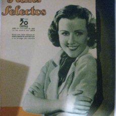 Cine: FILMS SELECTOS.Nº 222. 19 ENERO 1935. PORTADA DE MARGARET LINDSAY ARTISTA DE LA WARNER BROS-FIRST . Lote 28885907